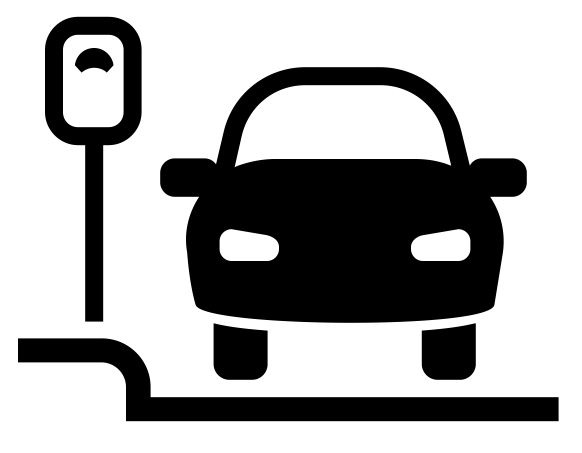 Curbside Parking Icon by Dan Hetteix from the Noun Project